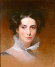 Rebecca Gratz painted by Thomas Sully 1831