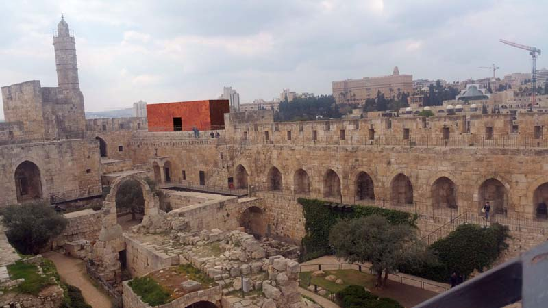 Avner Sher Tower of David Project / Photo credit: Third Jerusalem Biennale for Contemporary Jewish Art