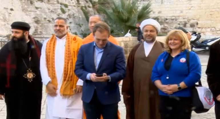 Bahrain Visitors In Jerusalem