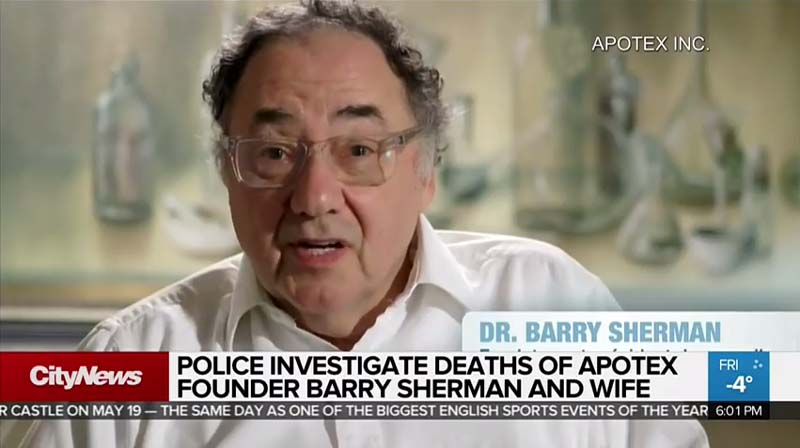 Autopsies underway for pharmaceutical billionaires found dead in their home