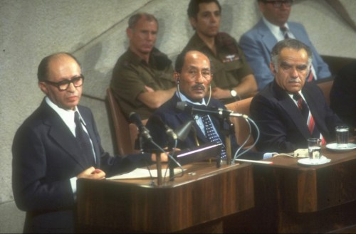 Israeli Parliament Marks 40 Years Since Historic Sadat Speech