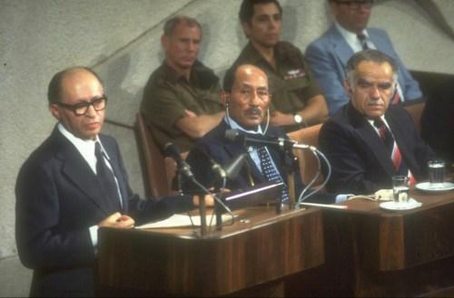 Israeli Parliament Marks 40 Years Since Historic Sadat Speech