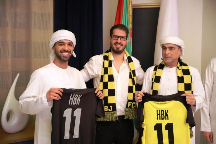 UAE owner of Israeli club says 'door open' to Arab players