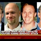 Murdered in the Benghazi attack: (L-R) Ambassador Chris Stevens, Sean Smith, Glen Doherty, and Tyrone Woods.