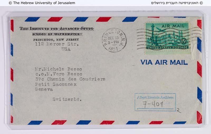 Einstein Archives  Hebrew University
