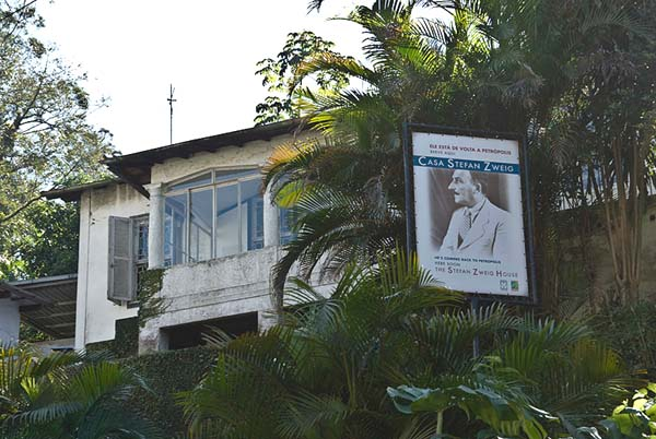 Casa Stefan Zweig, the last residence of Stefan Zweig and his wife in Petrópolis (Brazil), where the couple committed suicide in 1942.