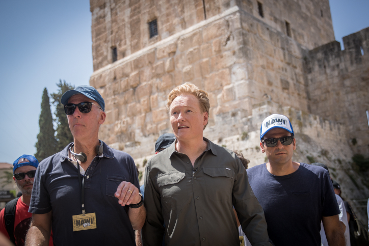 Conan O'Brien in Jerusalem