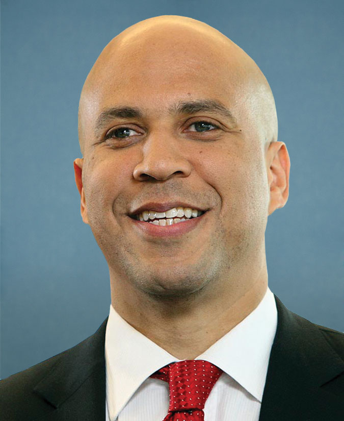 Cory Booker's lame excuse after holding sign critical of Israel