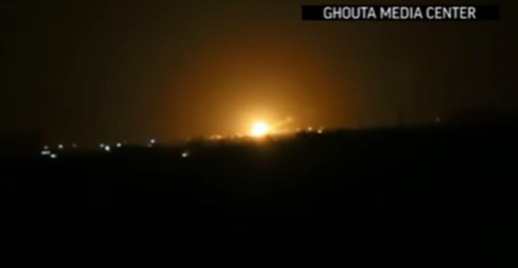 Suspected Israeli Missiles Target Position near Damascus Airport