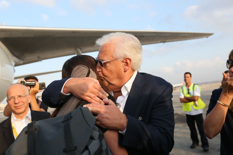 David Friedman NBN Arrival 2