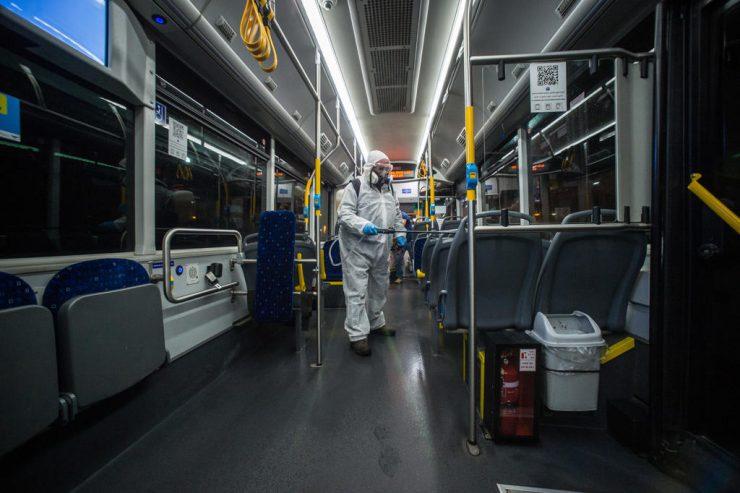 Israeli Tech Defending Buses in UK Against COVID-19