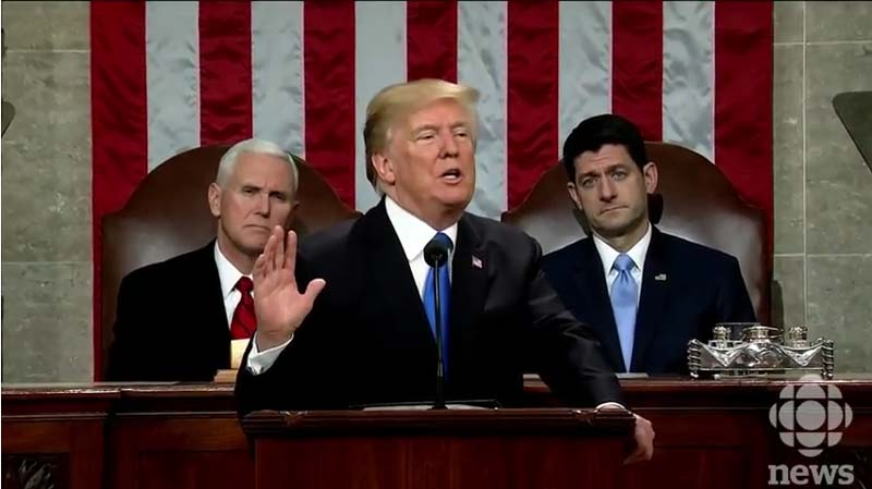 ACLU Political Director Laments That Trump's SOTU Was Too Patriotic