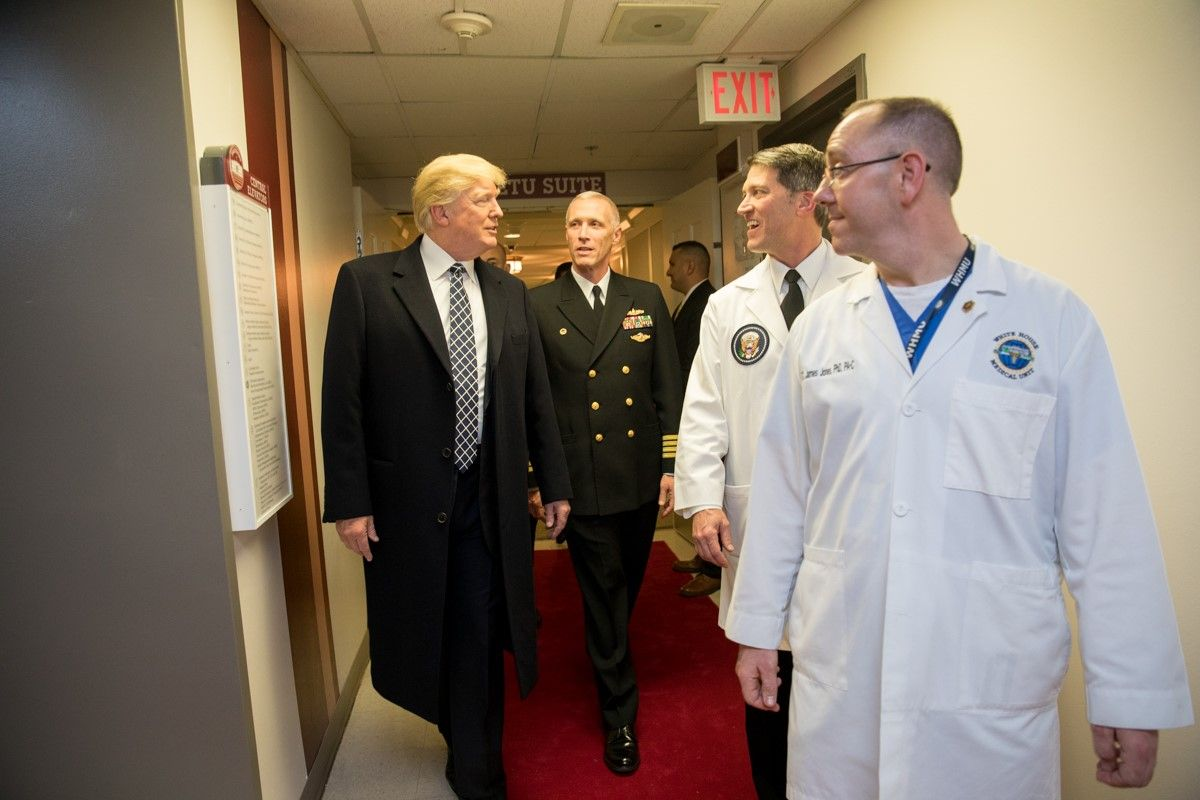 President Donald Trump Hospitalized with COVID-19, 'Doing Well'