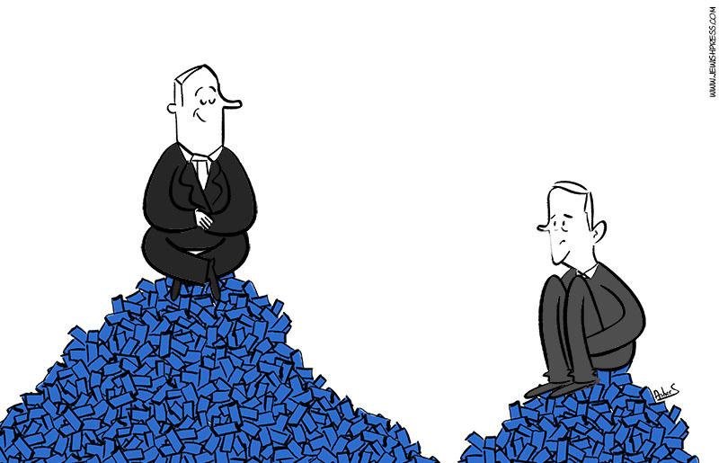 Gantz downplays Netanyahu election result