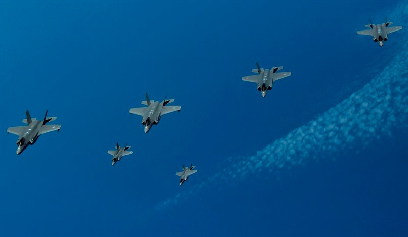 IAF, US Air Force and Royal Air Force Conclude First-Ever Joint F-35