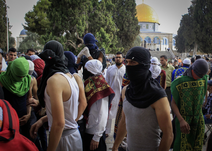 Three Die in Clashes After Israel Bars Men From Holy Site
