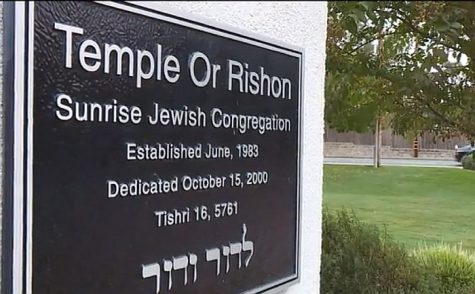 Temple Or Rishon in Sacramento, California. Nov 4 2017