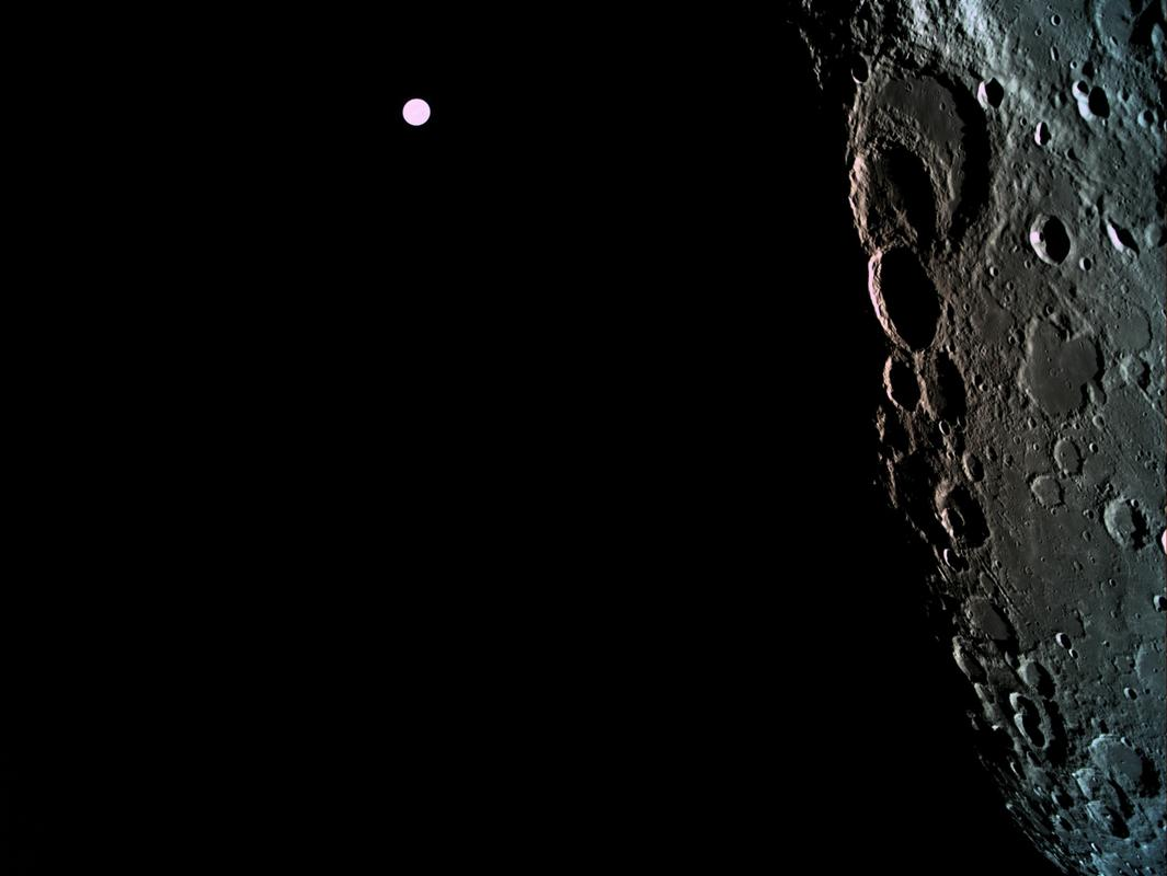 Israeli spacecraft Genesis sends remarkable photos of far side of the moon