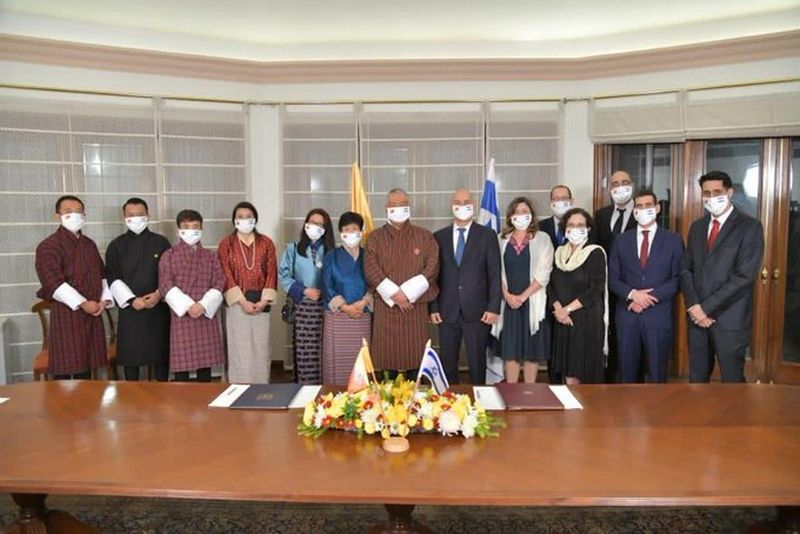 Israel Bhutan establish formal relations