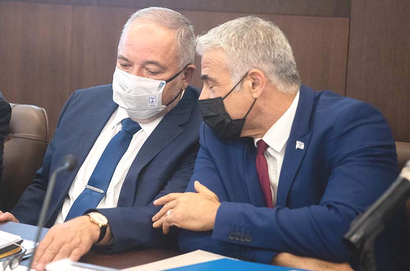 Lapid, Liberman, Skip Corona Cabinet Meetings, Opposition Outraged