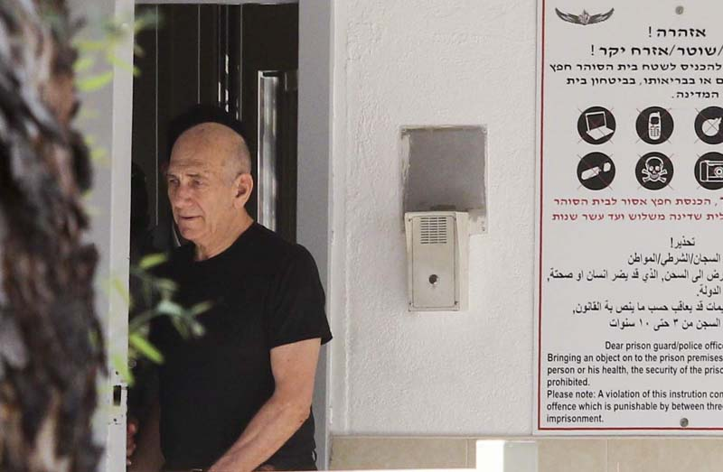 Ehud Olmert to be granted early prison release: lawyer