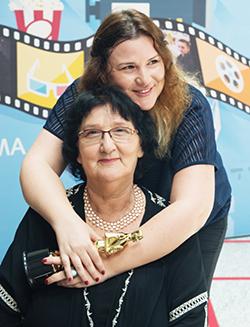 Anat with her mother, Sylva Zalmanson  (Courtesy Adi Adar)