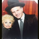 Rebbetzin Jungreis and the author at the Hineni Purim Party last March.