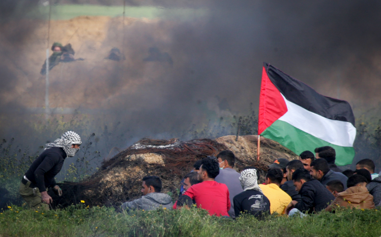Israeli fire injures five Palestinians near Gaza border: Health ministry