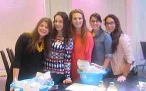 Bluma, Hefzi, Malka, Esti and Rachel from Neimos Seminary