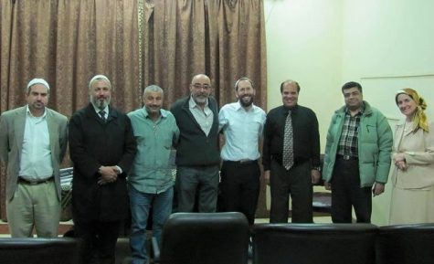 Hasan El-Shamy with group of Jewish and other religious leaders.