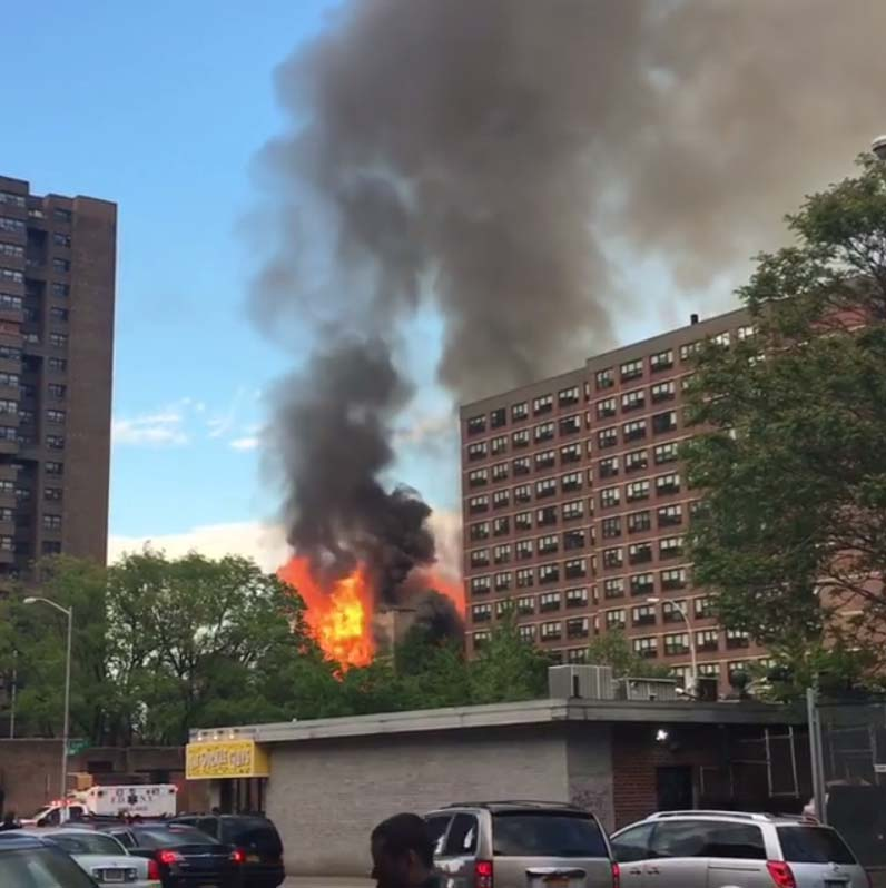Historic Lower East Side Synagogue on Fire