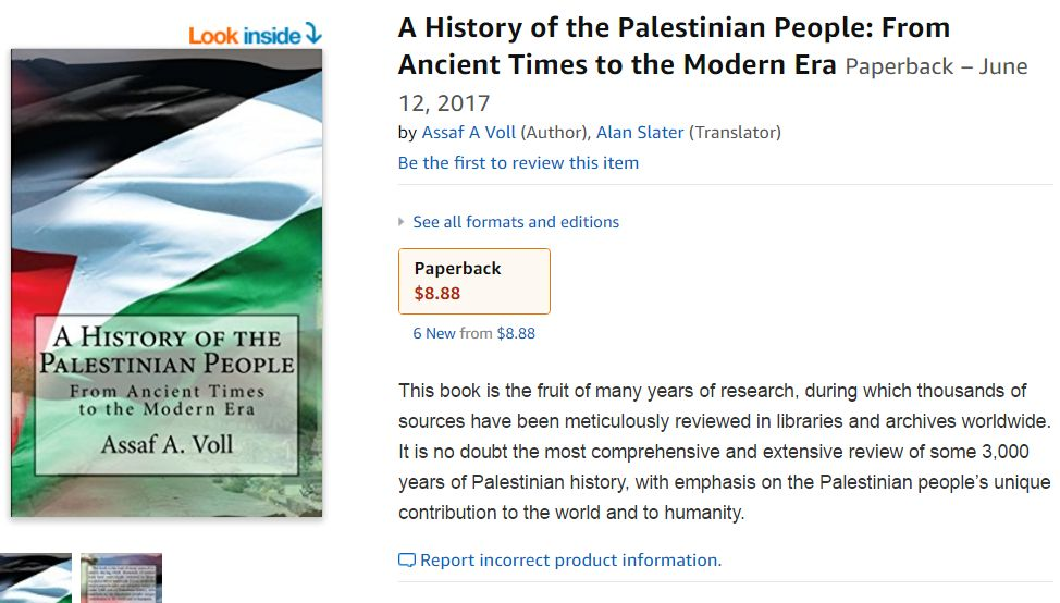 A History of the Palestinian People: From Ancient Times to the Modern Era
