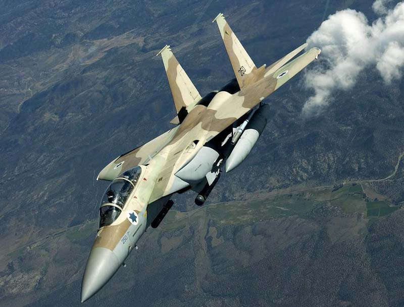 Syria Denounces Israel's Air and Missile Attack, Shot one Jeet
