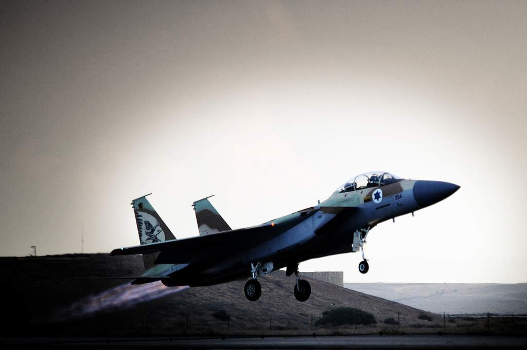 Israel Bombs Syrian 'Military Targets' near Damascus
