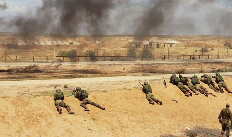 Assault on Gaza Border