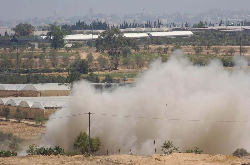 Seven dead as Israel blows up tunnel from Gaza