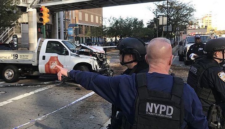 8 dead, 11 hurt in NYC terror truck attack