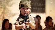 Screenshot from a Da'esh (ISIS) child propaganda video.