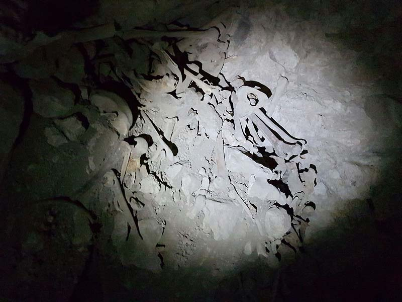Interior of the Skull Cave / Photo credit: Shomrim Al Hanetzach