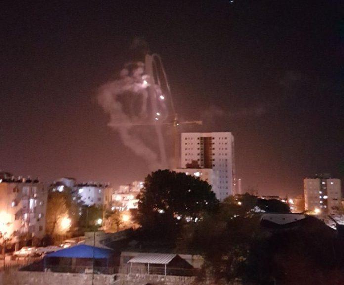 Rocket Attack on South Israel