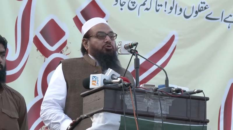 Lahore: Jamaat-ud-Dawah chief Hafiz Saeed walks free from house arrest