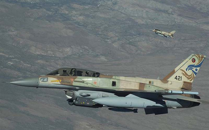 Two killed in Israeli strike on Syrian army positions