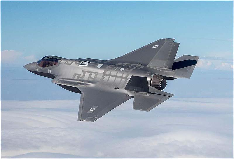 F-35 stealth fighter sees first combat, in Israeli operation