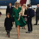 Ivanka Trump and Jared Kushner arrive in Washington to celebrate their father's inauguration