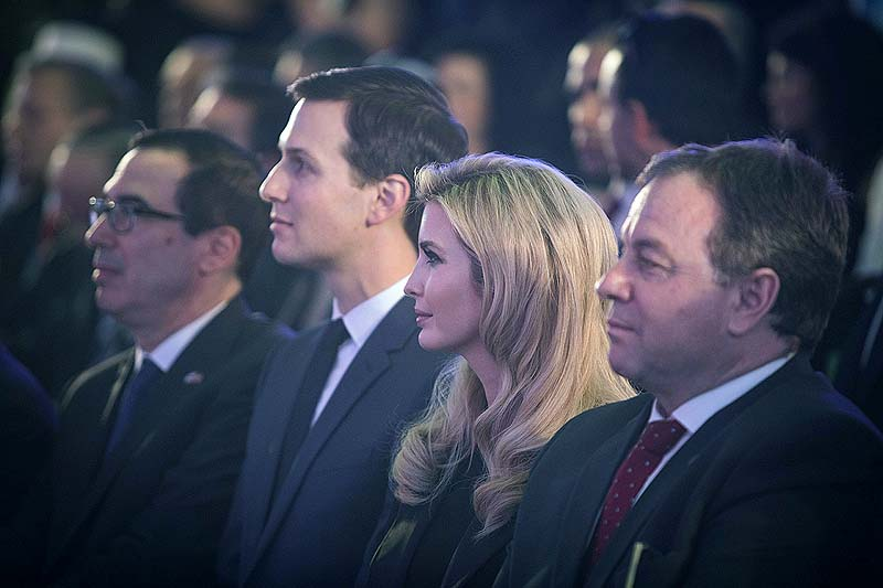 Stephen Colbert Had Strong Words About 'Javanka' at the Jerusalem Embassy Opening