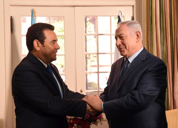 Guatemala to move its Israeli embassy to Jerusalem in May