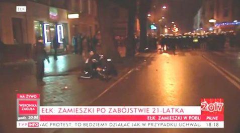 Kebab Prince during riots / Screenshot