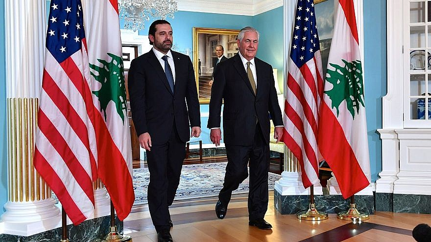 Lebanon's Top Officials Meet to Unify Position ahead of Tillerson's Arrival