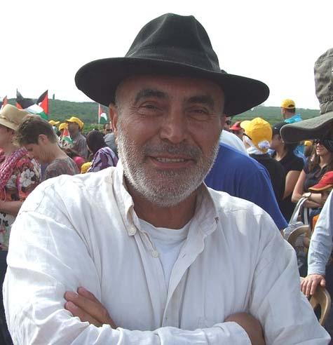 Left-wing activist Ezra Nawi
