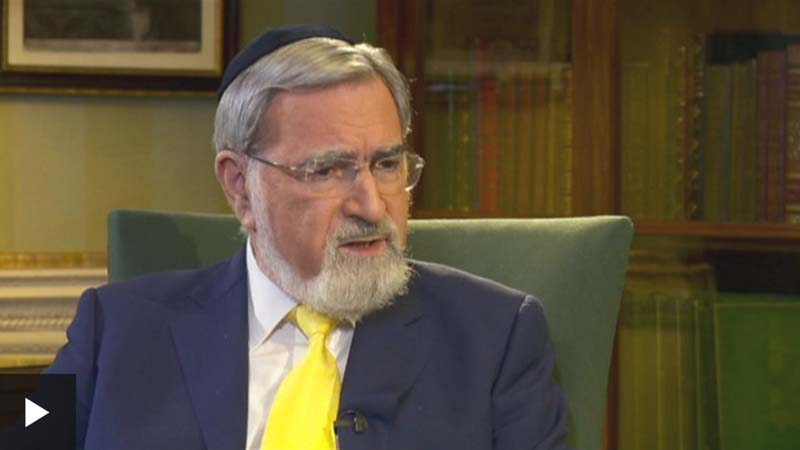 Lord Sacks BBC Interview Sept 2 2018